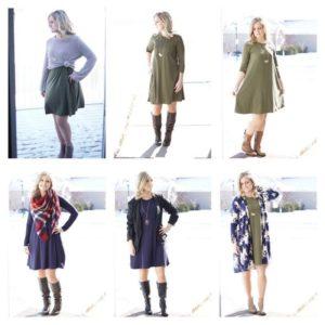 style a dress