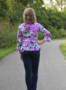 Women's Peplum Ladies Fashion