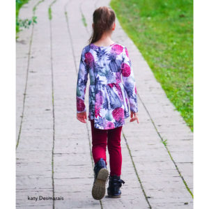 Girl's Peplum Children's Fashion