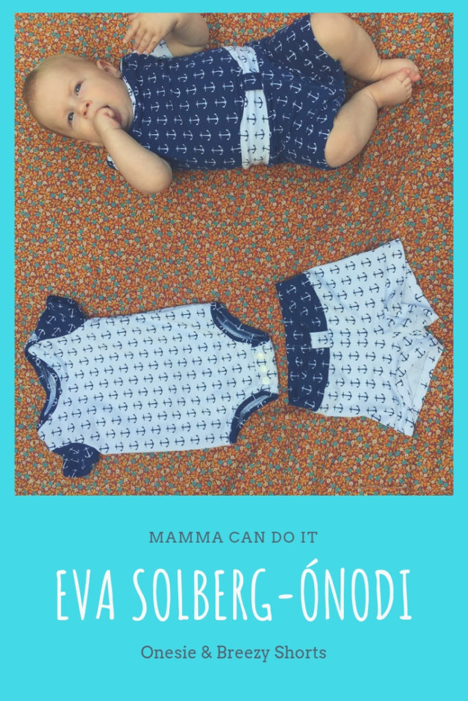 Onesie and Breezy Shorts PDF Pattern