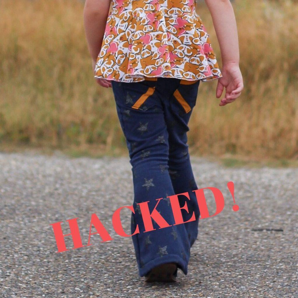 hacked patterns, sewing tips, cardigan, pants