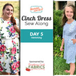 Cinch Dress Sew Along Day 5 - Hemming